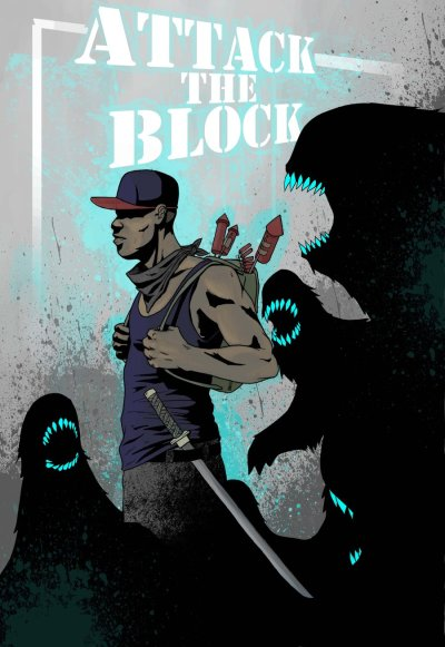 xombiedirge:  Attack The Block by Kepafrenico
