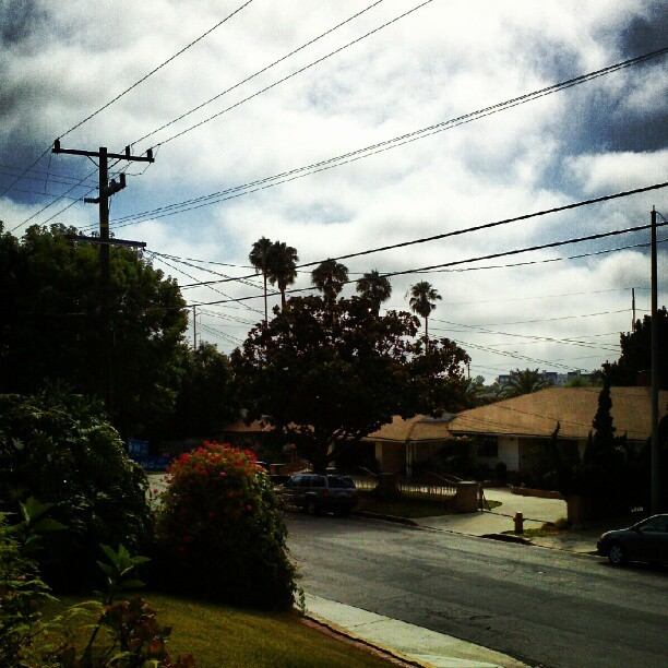 It feels so good outside today! #LA #ThisIsLA  (Taken with Instagram)