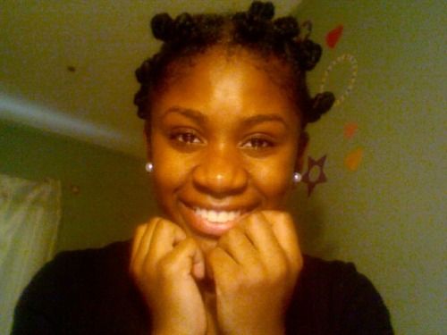 Rachel C. 16 Bantu Knots 7 months without relaxing.