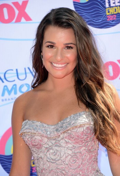 Lea Michele Teen Choice Awards 2012