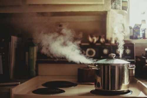 A Watched Pot… by Brandon Christopher Warren on Flickr.