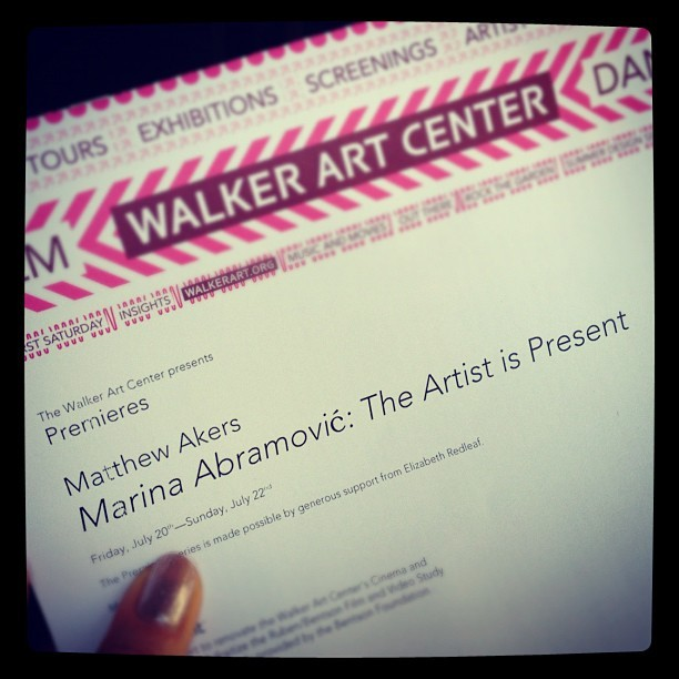 Go see this if you can! So inspiring! (Taken with Instagram)
