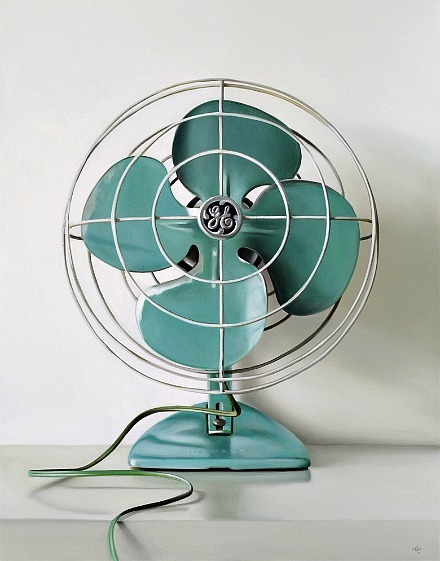 stilllifequickheart:  Christopher Stott GE Vintage Electric Fan 2011