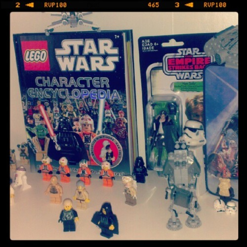 Star Wars Collection #starwars #Lego #toys #personal #geekery  (Taken with Instagram)