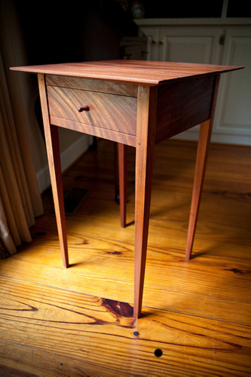 Mahogany End Table Joseph Thompson Woodworks On Etsy!