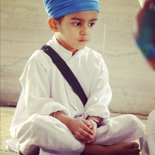 what a cute little Singh :)