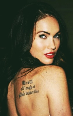 theachinglybeautiful:  Megan Fox