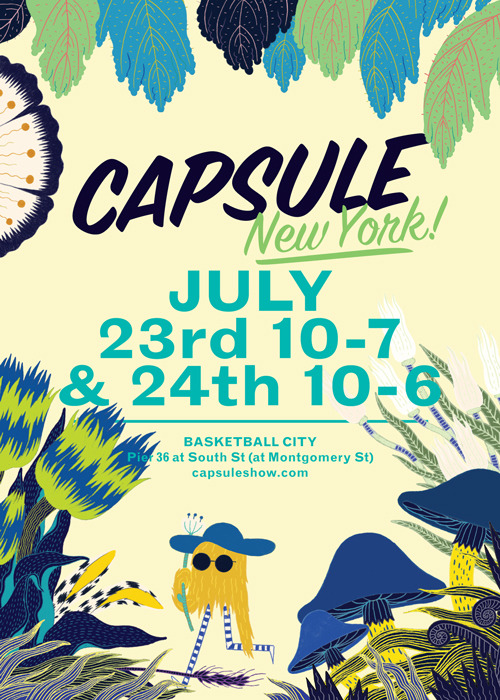 Tomorrow, I'll be at Capsule New York picking my favorite Spring / Summer 2013 pieces for We Are The Market - Stay tuned!