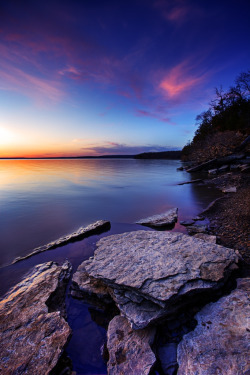 mer-de:  Blue creek point, Eufaula lake