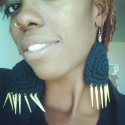 My new earrings.