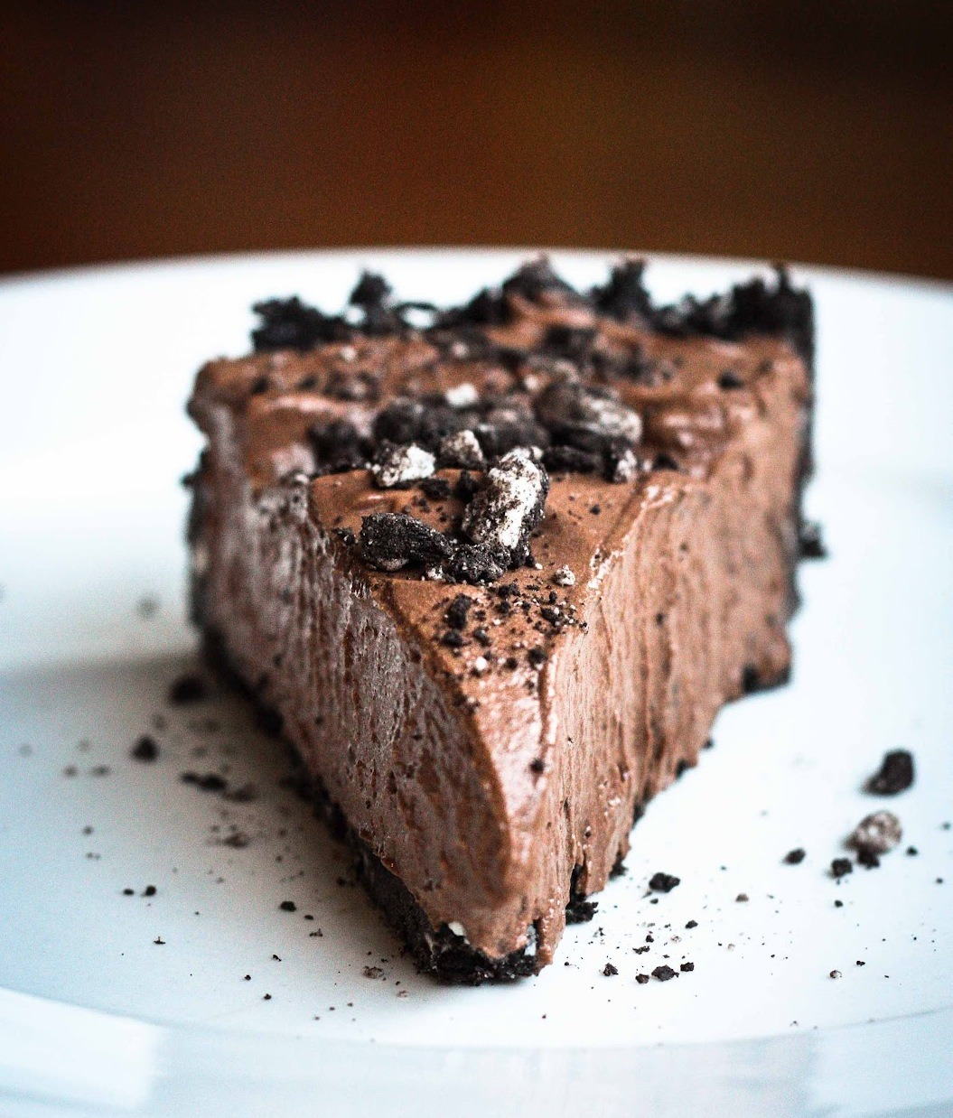 oreo chocolate mousse pie