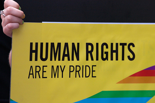gaywrites:  Human rights.   None truer. :]]
