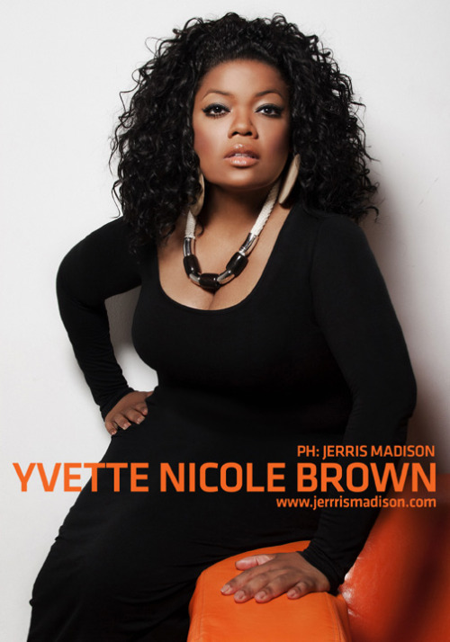 jerris:  Final Portrait of Actress/Community co-star, Yvette Nicole Brown shot by ME.