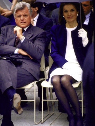 teddyken95:  Ted and Jackie Kennedy