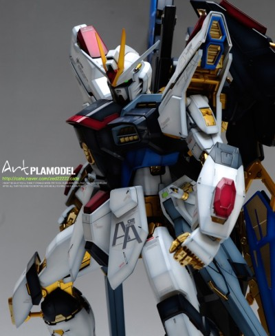 lunareticdawn:  PG 1/60 Strike Freedom Gundam Modeled by zed22222