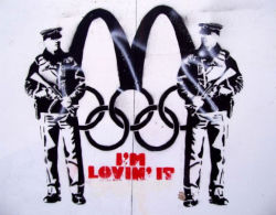 London artists are fighting back after rigid Olympic branding legislation has seen knitting groups shut down, street artists arrested, and french fries banned from the Olympic Park - read more at Arts Hub.