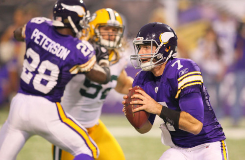 Break It Down: Christian Ponder's First Pass as a Starter