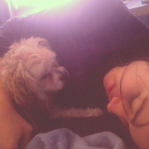 Paul and Zac are cuddling how cute (Taken with Instagram)