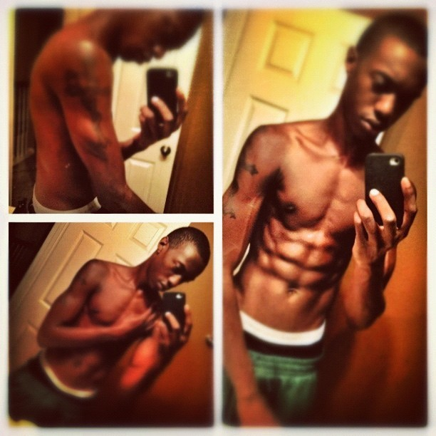 Just got done working out #Snapseed #workout #guy #girl #sexy #body #abs #hot #iphone4s #iphoneonly #me #like4like #likeforlike #followme #followers #followback #follow4follow #followforfollw  (Taken with Instagram)