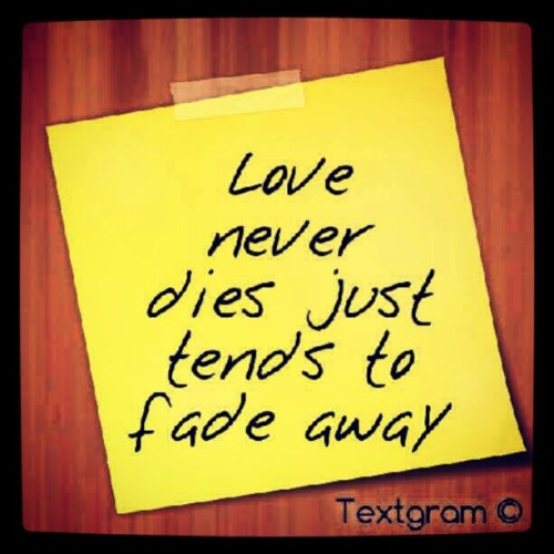Random thought #love #fade #life (Taken with Instagram)