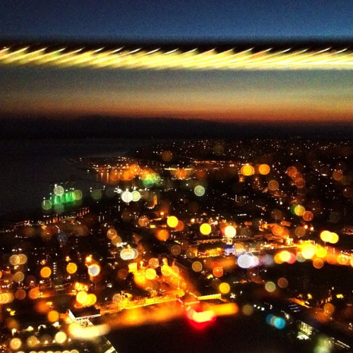 happy 50th birthday, space needle! here's a view from the top on a july night. 2012.