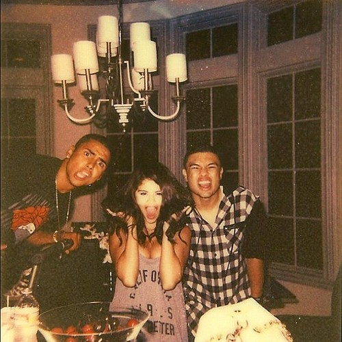 "selgomez-news:  ""Happy Happy Happy 20th Birthday @selenagomez!!! ���"" - @quincy"