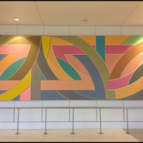 York Factory A,1972 by Frank Stella (Taken with Instagram)