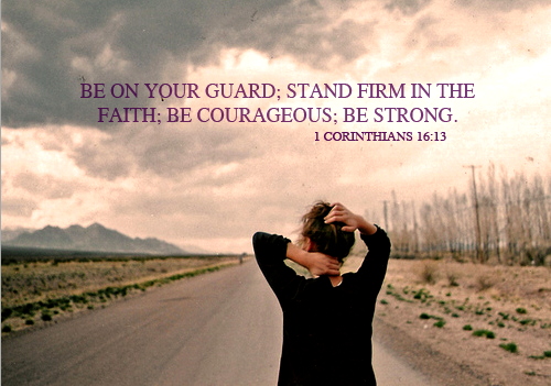 Be on your guard….