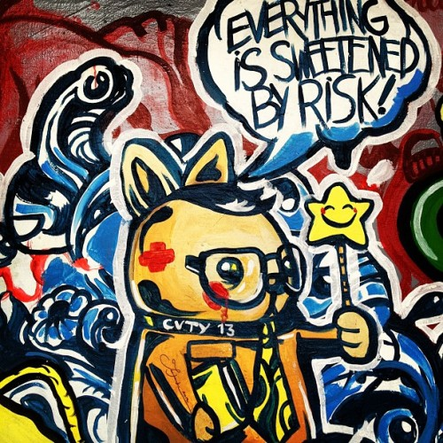 Word #graffiti #streetart  (Taken with Instagram)