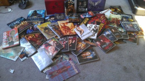 wearestillflying:  This is my collection of Joss Whedon's works. I'm not obsessed. I don't need help.
