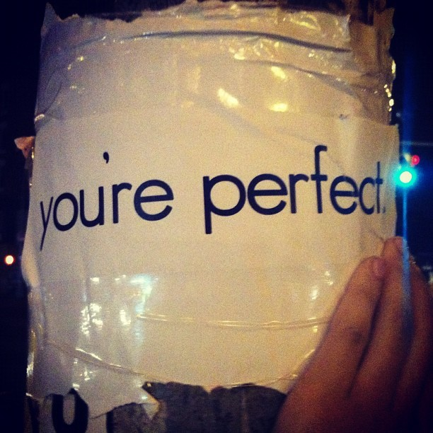 #youreperfect #manhattan #nyc #houstonst (Taken with Instagram)
