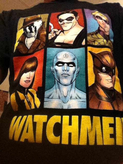 Workout tee 4 the day #watchmen Thanks @asako1 on instagram