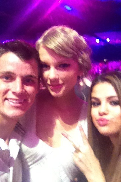 Selena Gomez with Taylor Swift