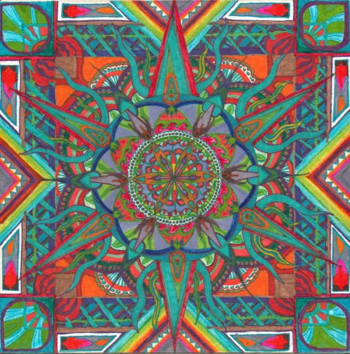 Mandala 30 by ~morningdewman
