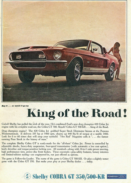 1968 Shelby Cobra GT500-KR  by coconv on Flickr.1968 Shelby Cobra GT500-KR