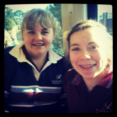 On the train going to rock climbing with @elett @sarahdent  (Taken with Instagram)