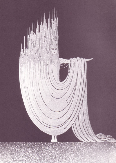 "Erté ""The Arctic Sea"", 1925"
