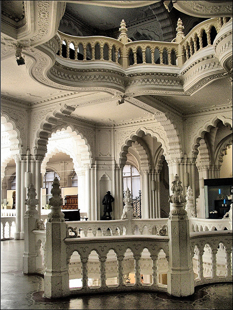visitheworld:  Architecture inside The Museum of Applied Arts in Budapest, Hungary (by Tölgyesi Kata).  // ]]]]]]]]> // ]]]]]]> // ]]]]>]]>