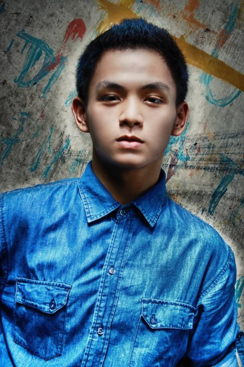 Pre-birthday photoshoot. Model: Paul John Domingo