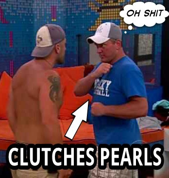 The epic Big Brother moment between Willie and Joe