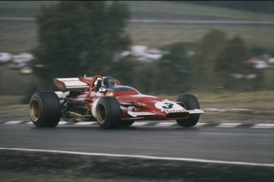 on the limit …Jacky Ickx, Ferrari 312B, 1970 US Grand Prix, Watkins GlenJacky scored pole & fastest lap during the weekend, but during the race his Ferrari suffered a broken fuel line, which he had to let be repaired in the pits, he rejoined the race in 12th position & fought his way back to 4tha great race by Ickx, but it also meant it wasn't enough to catch Jochen Rindt's championship lead of 45 pointsIckx did win the ultimate Grand Prix, in Mexico, 3 weeks later & finished as vice-champion in the standingsafterwards Ickx declared he was happy not to have caught up with Rindt, it wasn't the way he wanted to become world champion