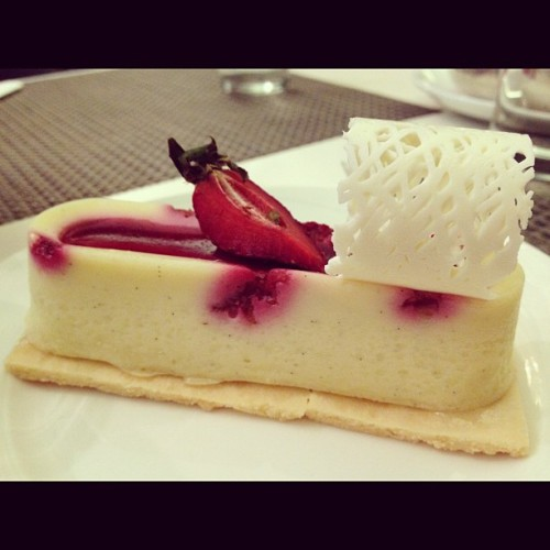 Danielle by #CakeClub (White Choc Raspberry #Cheesecake) (Taken with Instagram)