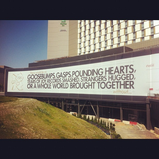 soupsoup:  Hello #London2012 (Taken with Instagram at Olympic Park)