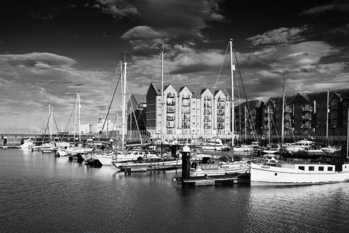 glenmcevoy:  Hartlepool Marina on Flickr.