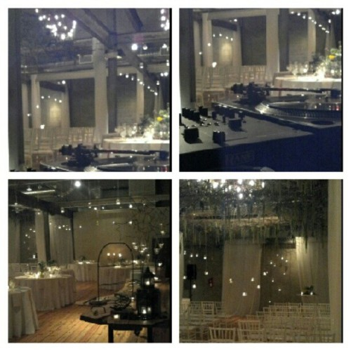 Few more shots of the beautiful venue for Saturday's wedding #ScratchDJWeddings www.scratchweddings.com #Philly #Front&Palmer (Taken with Instagram)