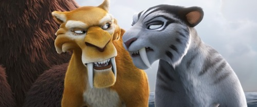 hodgepodgery:  I was actually pleasantly surprised by Ice Age 4. I felt like it was much better than Ice Age 2 and 3. Granted, not as good as the first, but still. It had some new likable characters. And lemme just say that Peter Dinklage did an amazing job voicing the villain!