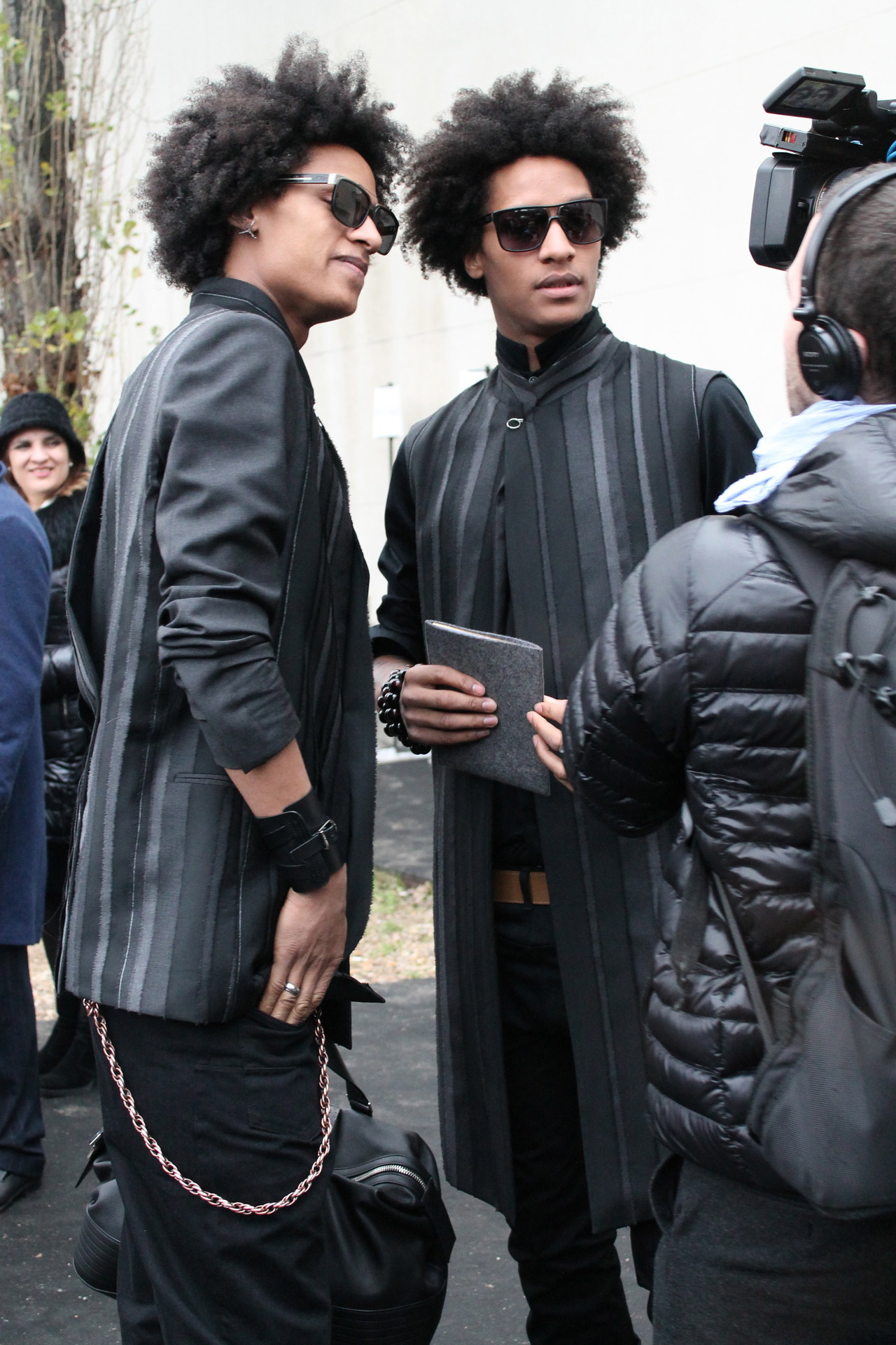 brandski:  Les Twins: Larry and Laurent.