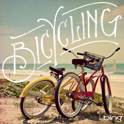typeverything:  Typeverything.com - Bicycling for Bing by @JonContino.  YAY!