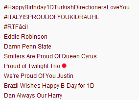 Proud of Twilight Trio is trending worldwide on Twitter :)