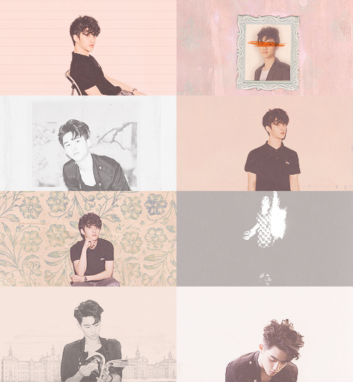 kyungsoo / light peach ( exo-do )